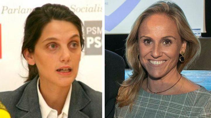 Pilar Sánchez Acera (PSOE) y Ana Camins (PP).