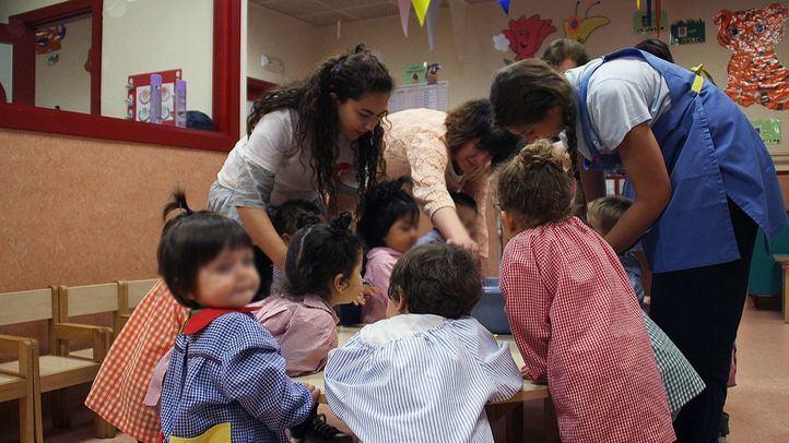 Las escuelas infantiles públicas de 0-3 años serán gratuitas desde el próximo curso.