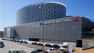 Hospital Rey Juan Carlos de Móstoles, donde los sanitarios confirmaron el fallecimiento del apuñalado.