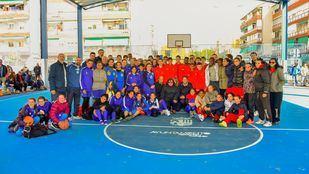 Jornada deportiva en el nuevo pabellón del Colegio Público Severo Ochoa de Torrejón