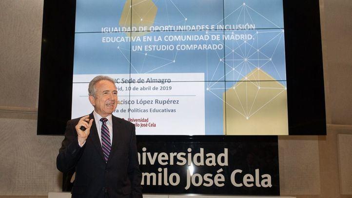 El estudio ha sido desarrollado por el catedrático de Políticas educativas de la universidad Camilo José Cela, Francisco López Rupérez.