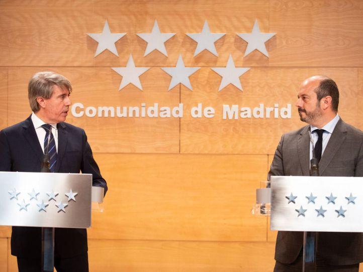 Garrido formaliza su dimisión como presidente