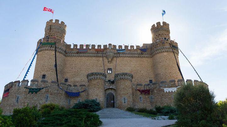 Entrada principal al Castillo de Manzanares.