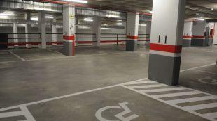 Reforma municipal del aparcamiento de Santo Domingo.