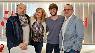 Los periodistas de El Mundo y 20 Minutos, Ferrán Boiza y Javier Garcia, en Com.Permiso