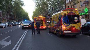 Fallece un hombre de 62 años tras ser atropellado en la calle Alcalá