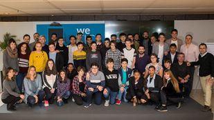 Foto de familia de los premios We TIC, organizados por Samsung y la Comunidad de Madrid