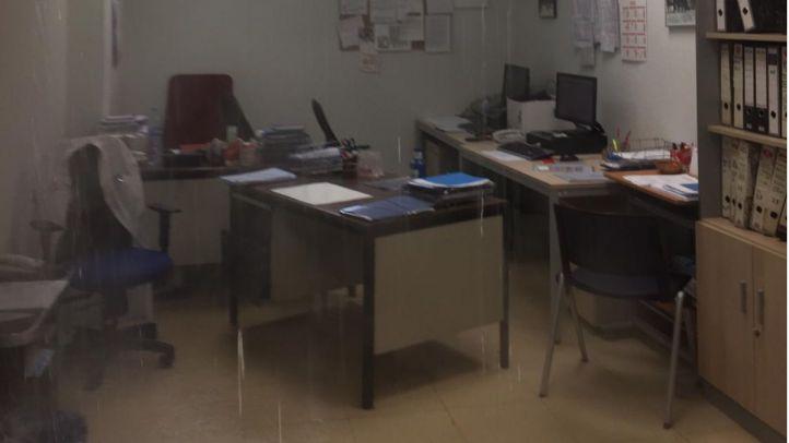 Inundado un despacho de La Paz por la rotura de una tubería