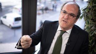 El candidato del PSOE a la Comunidad de Madrid, Ángel Gabilondo, en un momento de su entrevista con 'Madridiario'.