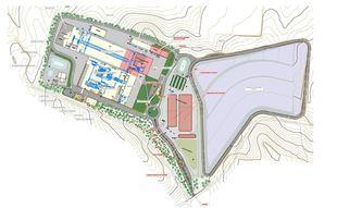 Proyecto de la planta de tratamiento de residuos de Loeches