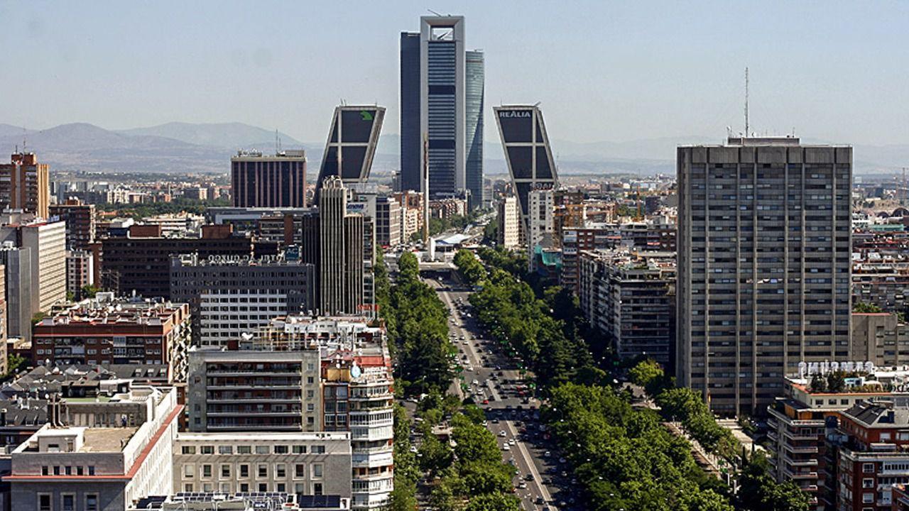 7f3c1af2 Vista de las torres Kio y del paseo de la Castellana. (Foto: Diego Sánchez)