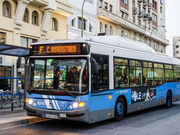 Cambios en las líneas de autobús hasta el 22 de abril