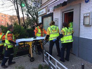Herido por arma de fuego un hombre en un local de copas en Aluche