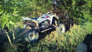 El accidente se ha producido en la M-229 a la altura de Orusco de Tajuña.
