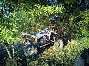 Un accidente de quad se salda con dos heridos en Orusco de Tajuña