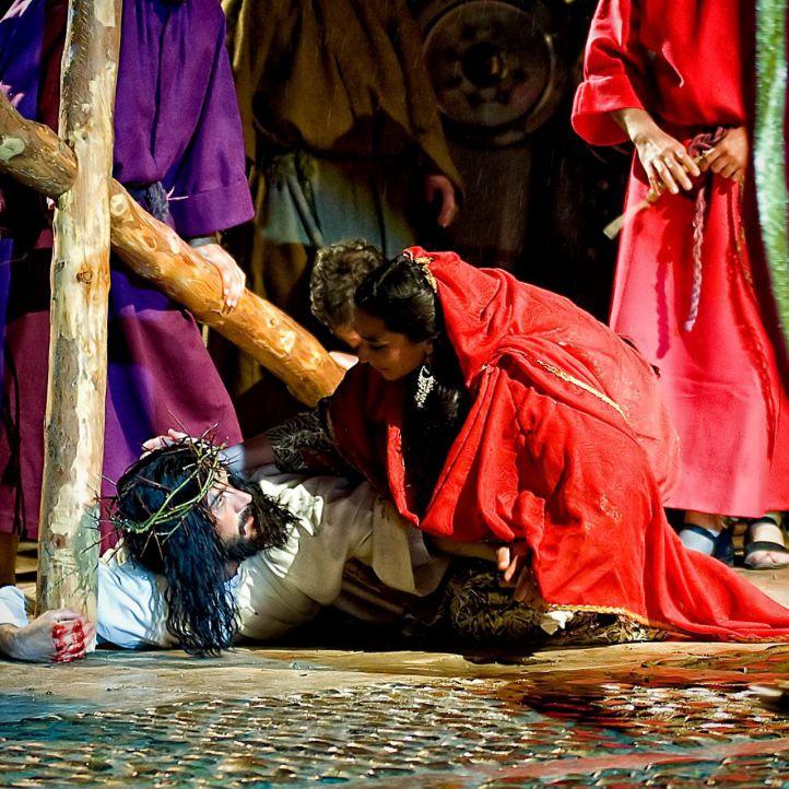 Pasion de Chinchon en Semana Santa