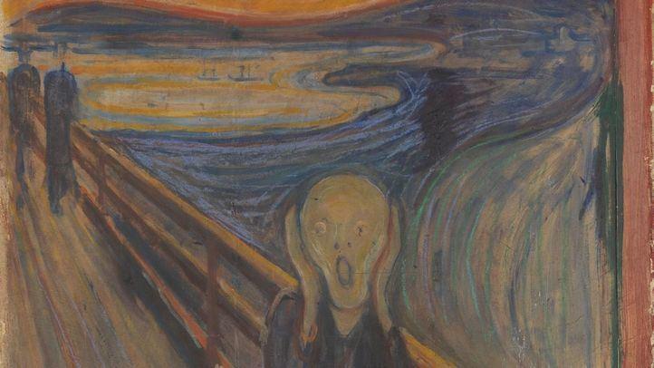 Algunas de las obras falsificadas por el detenido eran copias de obras de Edvard Munch.