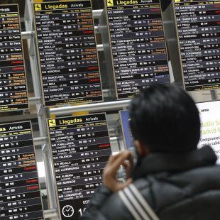 Normalidad en la cuarta jornada de huelga en el aeropuerto