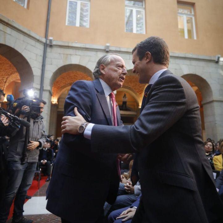 Álvarez del Manzano cierra la lista de Almeida al Consistorio