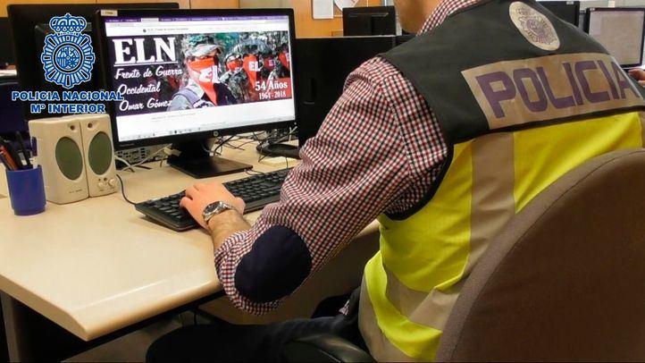 Desarticulado en Madrid el órgano de comunicación del ELN colombiano
