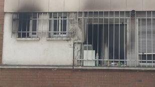 Incendio en una vivienda en Moratalaz.