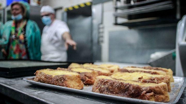Las pastelerías madrileñas despacharán más de cuatro millones de torrijas