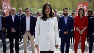 Begoña Villacís, candidata de Cs Madrid, presenta a los integrantes de su lista para conquistar Cibeles.
