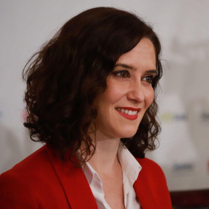 La candidata del PP a la Presidencia de la Comunidad de Madrid Isabel Díaz Ayuso.