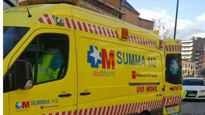 Herido grave un obrero por una caída en una empresa de Alcalá de Henares