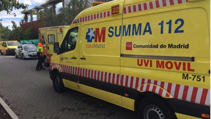 Ambulancia del SUMMA en una imagen de archivo