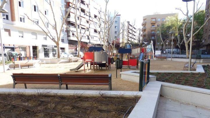 Abre el remodelado parque de San José de Calasanz