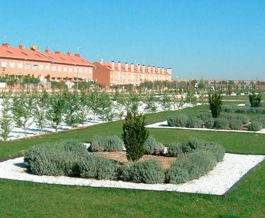 Jardines de Juan Pablo II, en Alcalá de Henares.