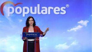 Isabel Díaz Ayuso en la Nave Boetticher.