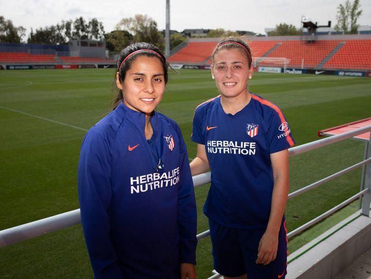 Atlético de Madrid Femenino: 'Poniendo coraje y corazón somos capaces de todo'