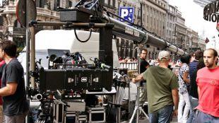 Caen un 80% los rodajes, que dejan casi 25 millones de euros en la ciudad