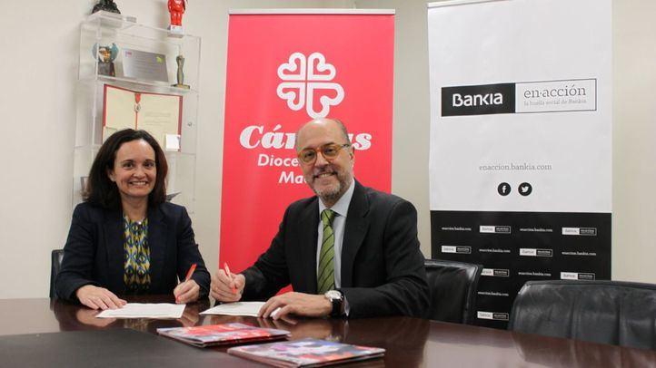 Bankia y Cáritas firman el tercer acuerdo para ayudar con el pago del alquiler a familias vulnerables