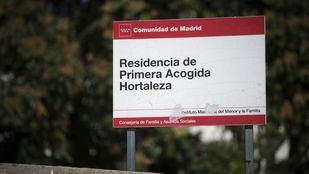 La Residencia de Primera Acogida de Hortaleza, donde se encuentran muchos 'menas'.