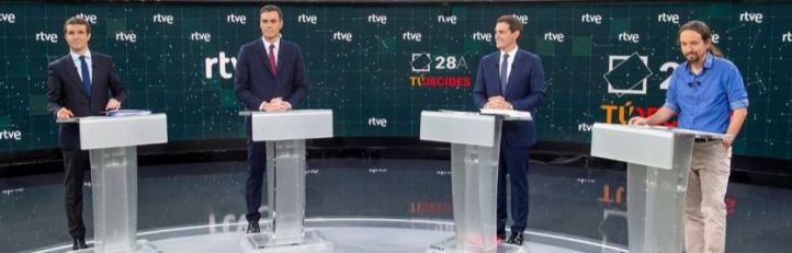 Debate elecciones generales 2019