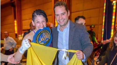 La campeona de Europa de boxeo, Miriam Gutiérrez, número dos de Ignacio Vázquez