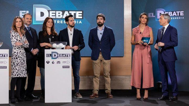 Segundo asalto: así será el debate de Atresmedia esta noche