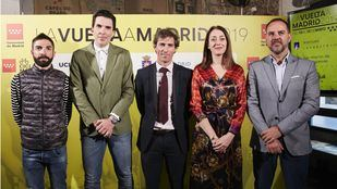 Presentación de la Vuelta Ciclista a Madrid