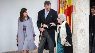 Ida Vitale recibe 'la emoción de su vida' al recoger el galardón