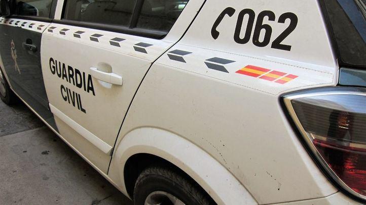 Foto de archivo de un coche patrulla de la Guardia Civil