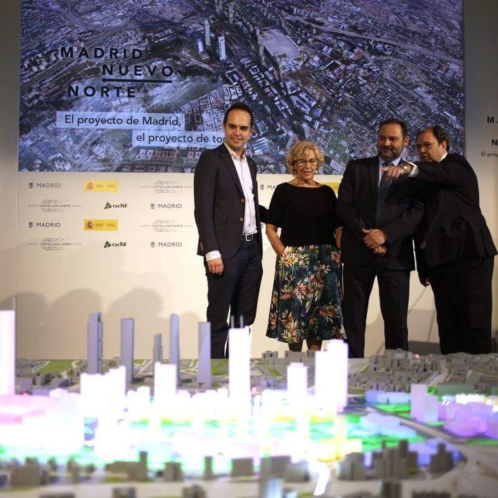 El Ayuntamiento se abre ahora a aprobar Madrid Nuevo Norte en campaña
