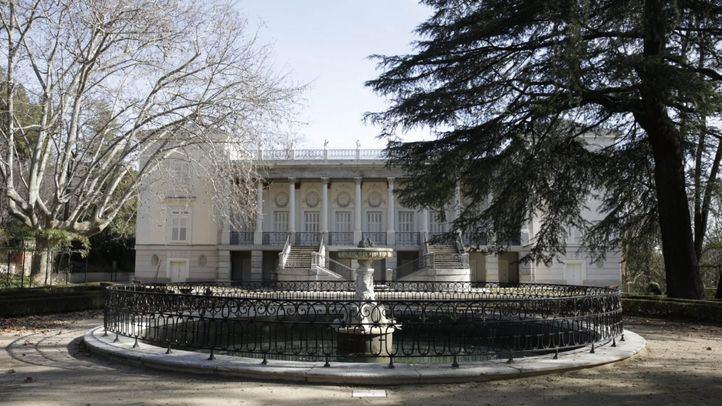 Foto de archivo del Palacio del Capricho.