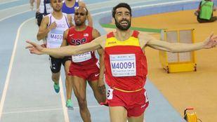 Juan José Crespo, tricampeón del mundo de atletismo.
