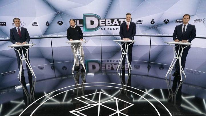 Pablo Iglesias, vencedor del debate según los lectores de Madridiario