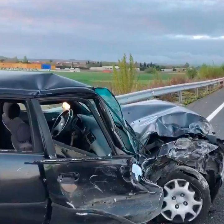 Un muerto y tres heridos en un accidente en Fuente el Saz