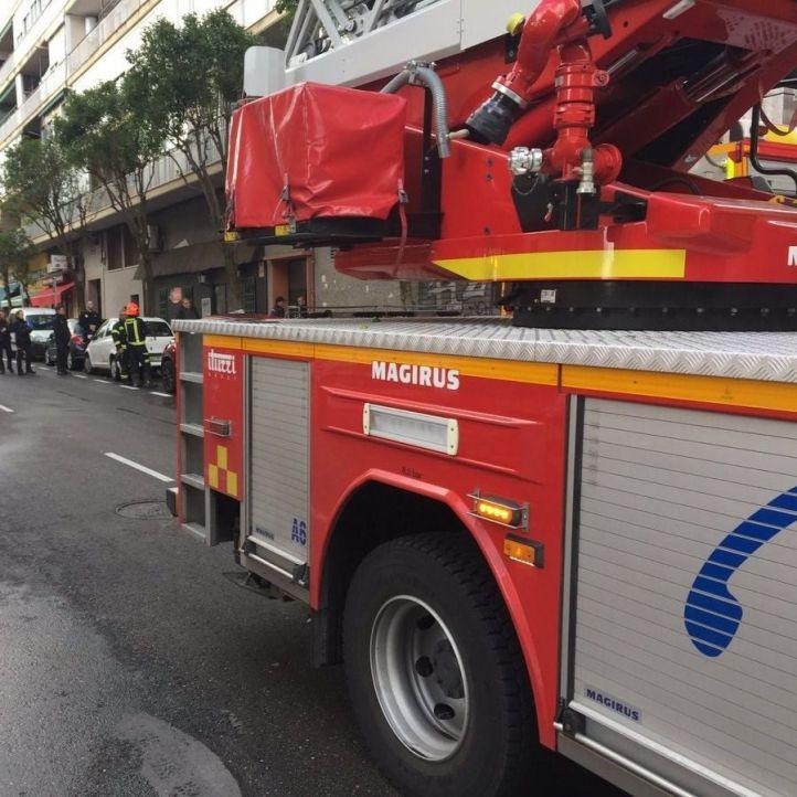 Muy grave un mujer de 92 tras un incendio en su casa