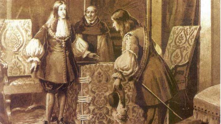 Destitución del Conde de Oropesa  tras el motín de los Gatos de 1699